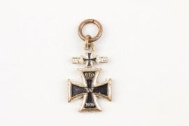 1957 miniature to 1939 Clasp to 1914 Iron Cross