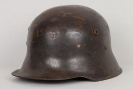 Schwarzer Stahlhelm M18 deutsch