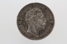5 MARK 1904 A - WILHELM II (PRUSSIA)