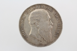 5 MARK 1904 G - FRIEDRICH I (BADEN)