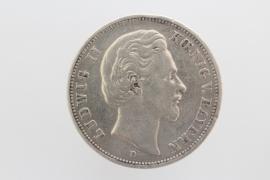 5 MARK 1875 D - LUDWIG II (BAVARIA)