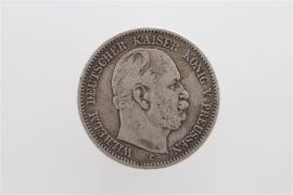 2 MARK 1876 C - WILHELM I (PRUSSIA)