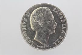 1 TALER 1868 - LUDWIG II (BAVARIA)