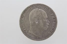 1 TALER 1866 - WILHELM I (PRUSSIA)