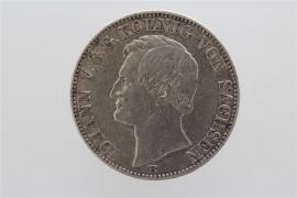 1 TALER 1864 - JOHANN (SAXONY)