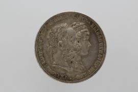 DOPPELGULDEN 1879 - FRANZ JOSEF I (AUSTRIA)