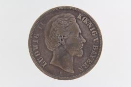 5 MARK 1876 D - LUDWIG II (BAVARIA)