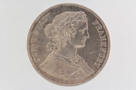 2 TALER 1860 - FRANKFURT