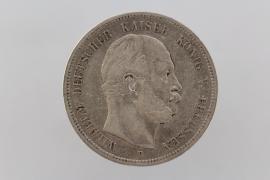 5 MARK 1876 B - WILHELM I (PRUSSIA)