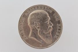 5 MARK 1903 G - FRIEDRICH I (BADEN)