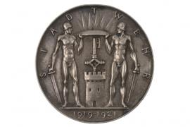 MEDAL 1921 - STADTWEHR (BREMEN)