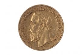 20 MARK 1873 G - FRIEDRICH I (BADEN)