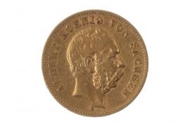 20 MARK 1876 E - ALBERT (SAXONY)