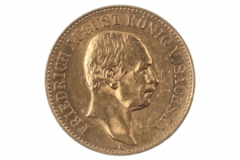 20 MARK 1905 E - FRIEDRICH AUGUST (SAXONY)