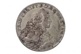 1 TALER 1766 B - FRIEDRICH CHRISTIAN (BAYREUTH)