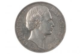 1 TALER 1871 - LUDWIG II (BAVARIA)