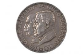 MEDAL 1928 - AIRSHIP ZEPPELIN (BERNHART)
