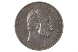 1 TALER 1871 - WILHELM I (PRUSSIA)