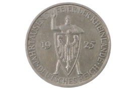 5 REICHSMARK 1925 A - RHEINLANDE