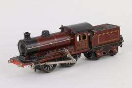 Märklin Uhrwerk-Dampflokomotive mit Tender R 950