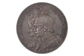 5 MARK 1901 A - WILHELM II (PRUSSIA)