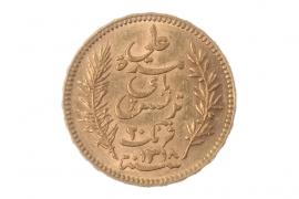 20 FRANCS 1900 A - ALI BEY (TUNISIA)