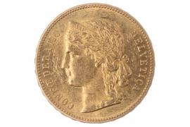20 FRANKEN 1896 B - HELVETIA (SWITZERLAND)