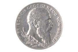 2 MARK 1902 G - FRIEDRICH (BADEN)