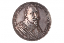 MEDAL 1832 - GUSTAV ADOLPH AUF DEN TOD (SCHWEDEN)