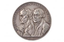 MEDAL 1930 - LUTHER & MELANCHTON (DENOMINATION AUGSBURG)