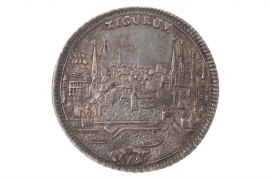 1/2 TALER 1743 - ZURICH CITY