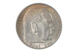 5 REICHSMARK 1936 A - HINDENBURG