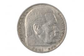 5 REICHSMARK 1936 D - HINDENBURG