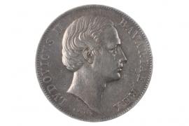 1 TALER 1867 - LUDWIG II (BAVARIA)