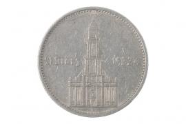 5 REICHSMARK 1934 A - GARNISONSKIRCHE