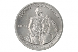 1/2 DOLLAR 1982 - GEORGE WASHINGTON (USA)