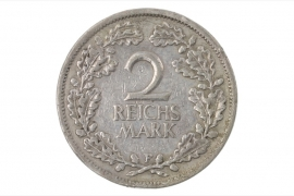 2 REICHSMARK 1926 F