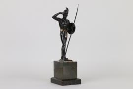 Griechischer Krieger, Bronze um 1900