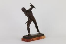 """""""Der Fechter"""", Bronze um 1900"""