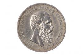 2 MARK 1888 A - FRIEDRICH III (PRUSSIA)