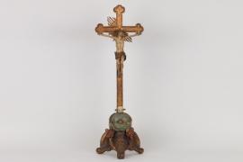Barockes Standkruzifix, süddeutsch 18.Jh.