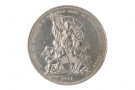 5 FRANKEN 1881 (SWITZERLAND)
