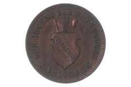 1 KREUZER 1871 - BADEN