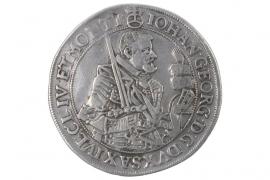 1 TALER 1629 - JOHANN GEORG I (SAXONY, ALBERTINES)