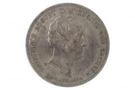 1/3 TALER 1854 - FRIEDRICH AUGUST II (SAXONY)