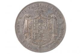 2 TALER - 3 1/2 GULDEN 1840 - WILHELM II (HESSE)