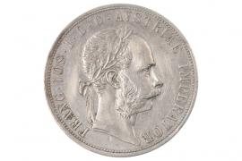 2 GULDEN 1888 - FRANZ JOSEPH (AUSTRIA)