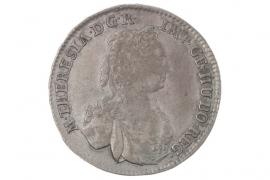 1/2 TALER 1763 - MARIA THERESIA (AUSTRIA)
