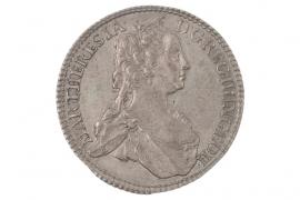 15 KREUZER 1744 - MARIA THERESIA (AUSTRIA)