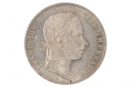 1 GULDEN 1860 - FRANZ JOSEPH (AUSTRIA)